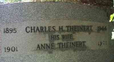 Anne Theinert - Grave