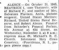 Beatrice THEINERT - Brooklyn Eagle