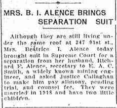 Beatrice THEINERT - Brooklyn Daily Eagle