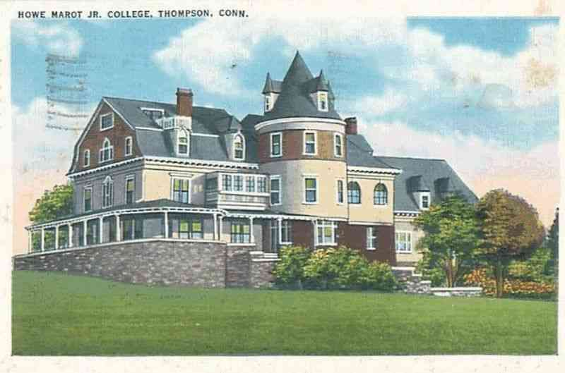 Thompson, Connecticut, USA - Howe Marot Jr. College