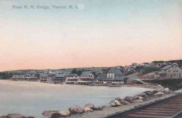 Tiverton, Rhode Island, USA - From R. R. Bridge, Tiverton, R. I.