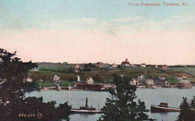 Tiverton, Rhode Island, USA - From Hummock, Tiverton, R. I.