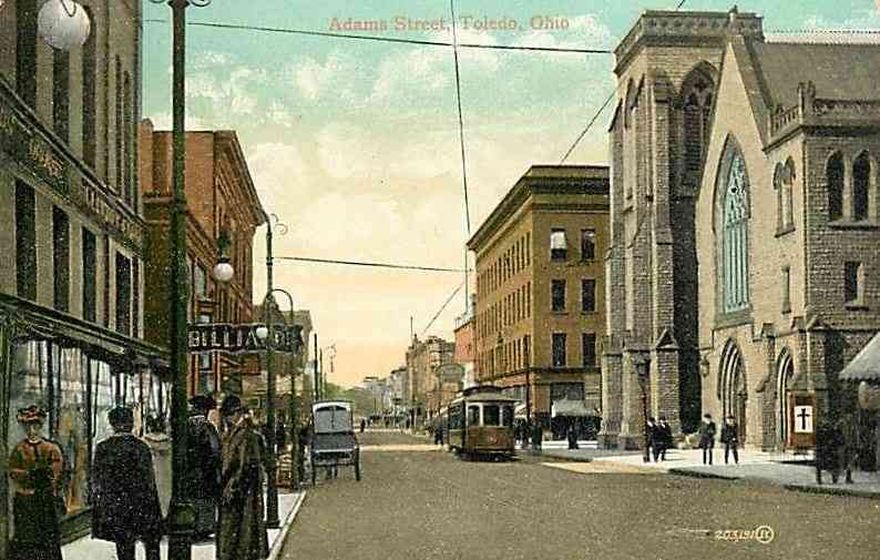 Toledo, Ohio, USA - Adams Street, Toledo, Ohio