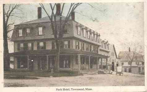 Townsend, Massachusetts, USA (Townsend Harbor) - Park Hotel (1914)