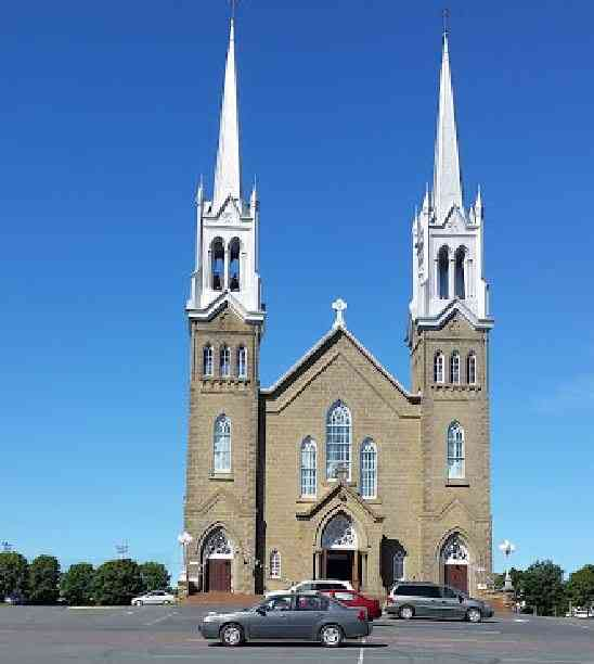 Tracadie, New Brunswick, Canada (Tracadie-Sheila) - St-Joseph et St-Jean-Baptiste Church