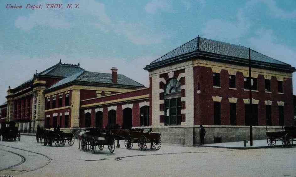 Troy, New York, USA - Union Depot, Troy, N.Y.