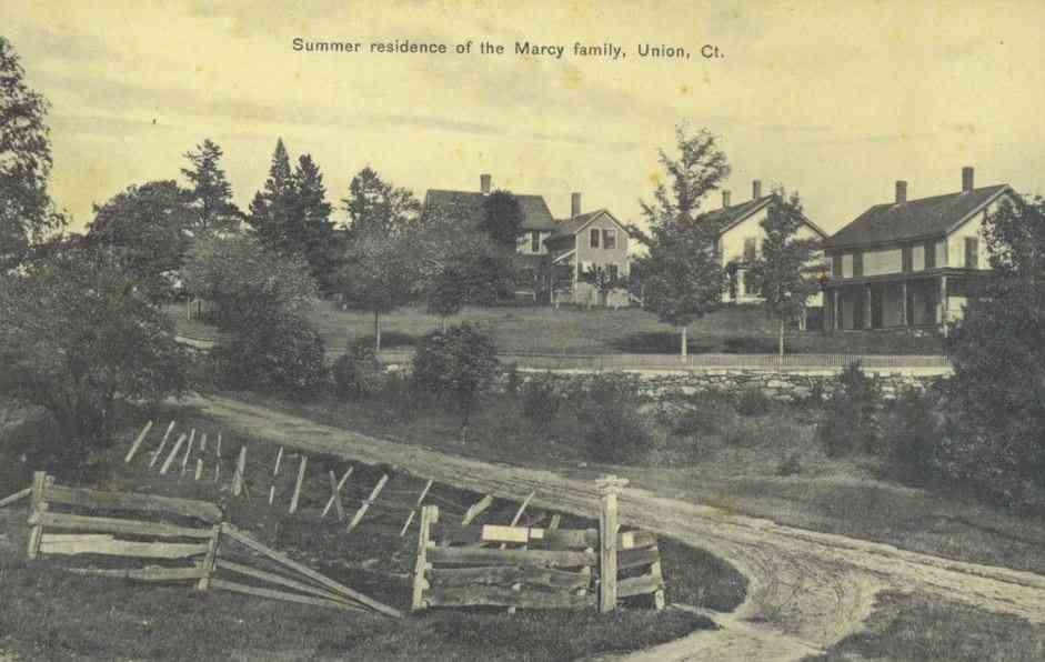 Union, Connecticut, USA - Summer residence of the Marcy family, Union, Ct.