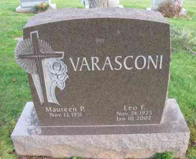 Leo VARASCONI - St Mary's Cemetery, New Britain, Connecticut