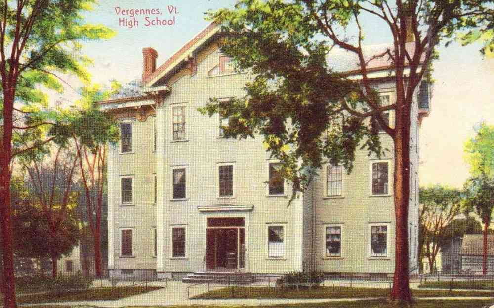 Vergennes, Vermont, USA - Vergennes, Vt. High School