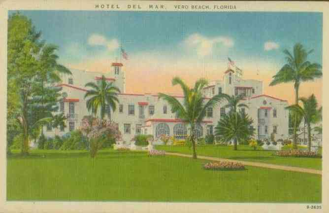Vero Beach, Florida, USA - Hotel Del Mar