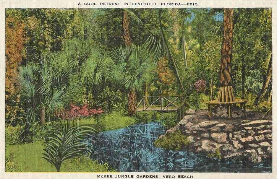Vero Beach, Florida, USA - McKee Jungle Gardens