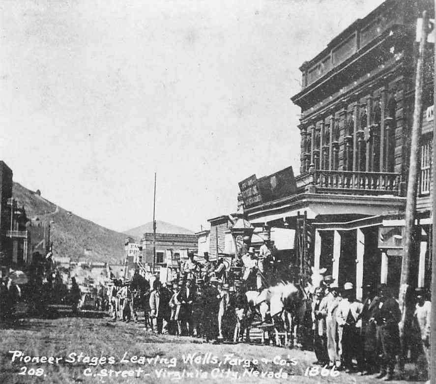 Virginia City, Nevada, USA