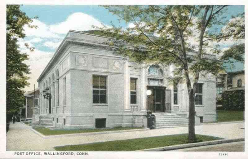 Wallingford, Connecticut, USA - Post Office