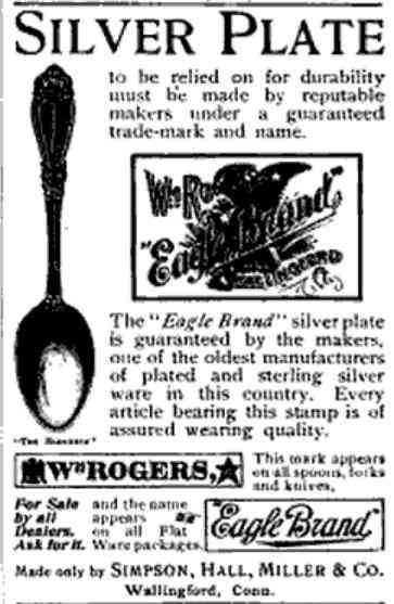 Wallingford, Connecticut, USA - Silver Plate