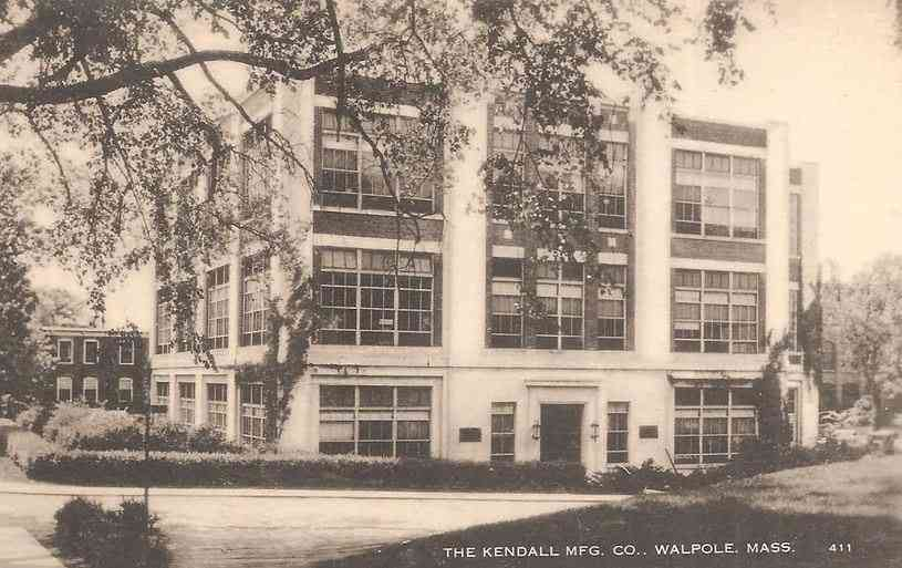 Walpole, Massachusetts, USA - The Kendall Mfg. Co., Walpole, Mass.