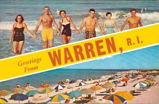 Warren, Rhode Island, USA - Greetings from Warren, R. I.