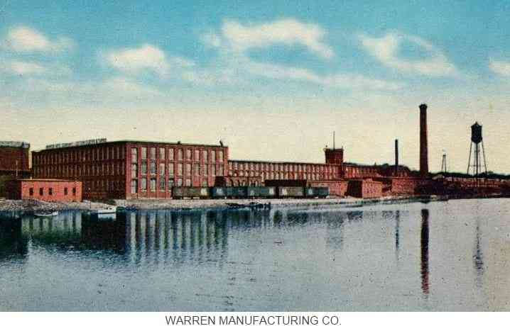 Warren, Rhode Island, USA - Warren Manufacturing Co.
