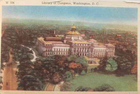 Washington, DC, USA - Library of Congress