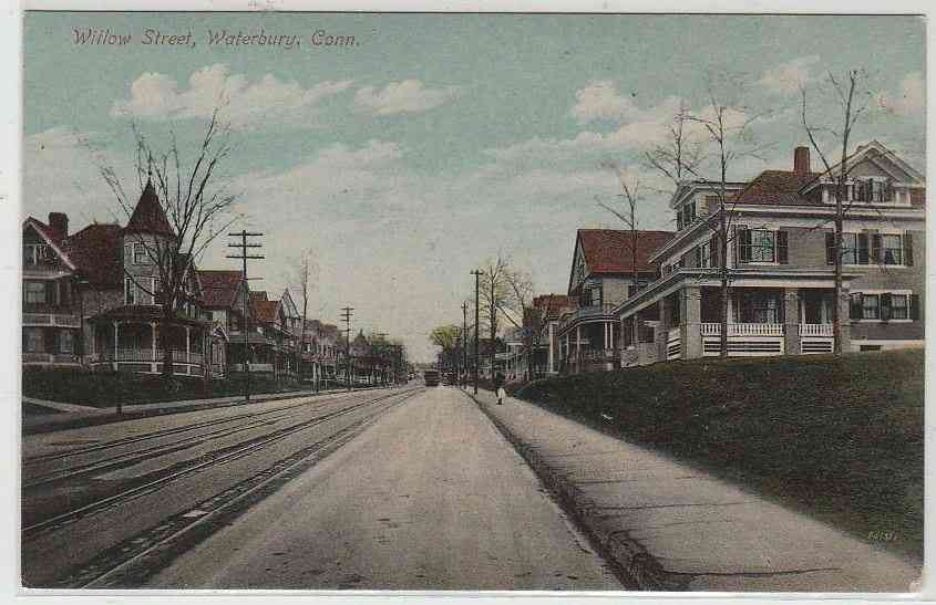 Waterbury, Connecticut, USA - Willow Street, Waterbury, Conn.
