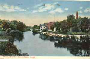 Watertown, Massachusetts, USA - Charles River, Watertown, Mass.