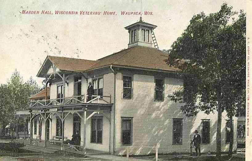 Waupaca, Wisconsin, USA - Marden Hall, Wisconsin Veterans' Home, Waupaca, Wis.