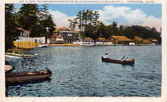 Webster, Massachusetts, USA - At Lake Chargoggagoggmanchauggagogg