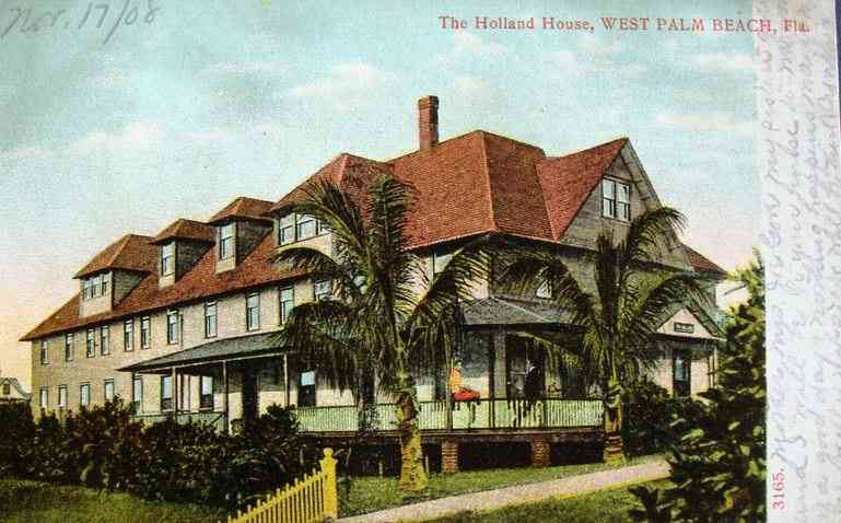 West Palm Beach, Florida, USA - The Holland House