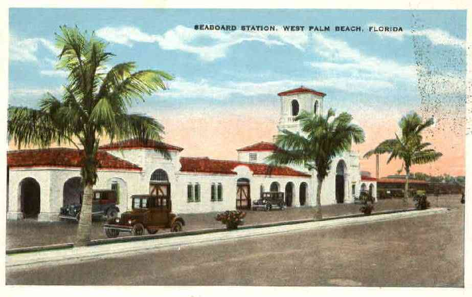West Palm Beach, Florida, USA - Seaboard Station