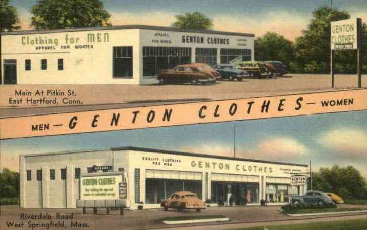West Springfield, Massachusetts, USA - Genton Clothes