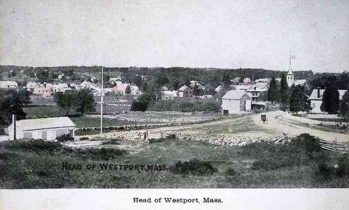 Westport, Massachusetts, USA (North Westport) - Head of Westport, Mass.