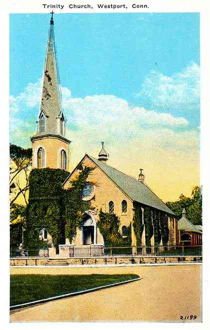 Westport, Fairfield, Connecticut, USA - Trinity Church