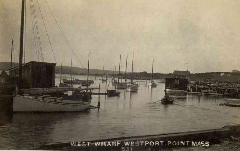 Westport, Massachusetts, USA (North Westport) - West Wharf - Westport - Point Mass.