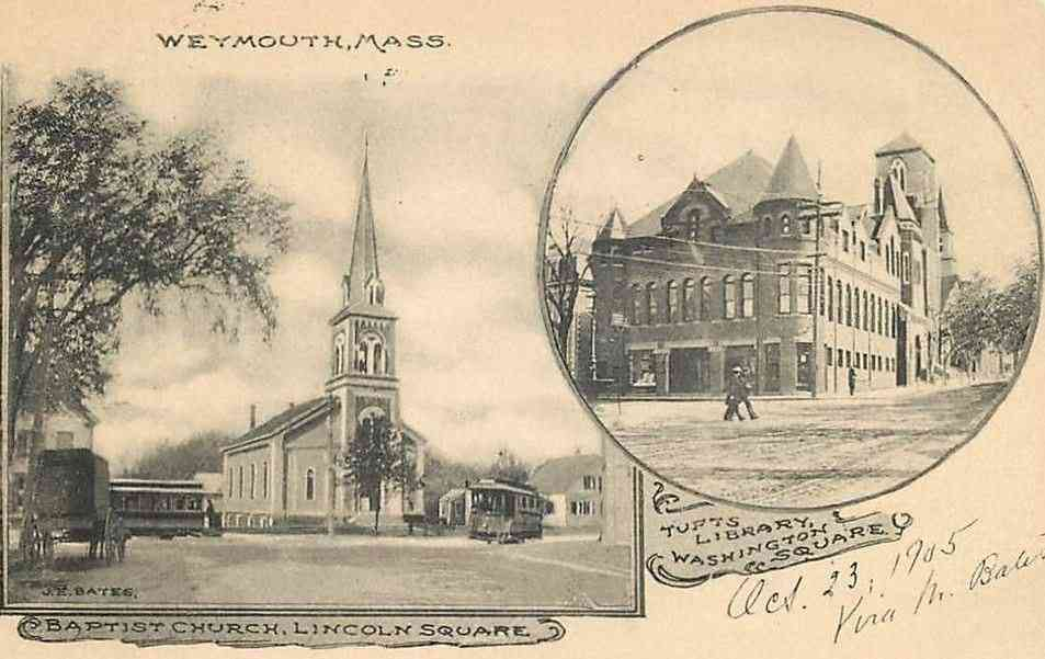 Weymouth, Massachusetts, USA - (1905)