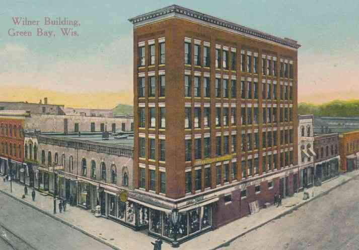 Green Bay, Wisconsin, USA - Wilner Building