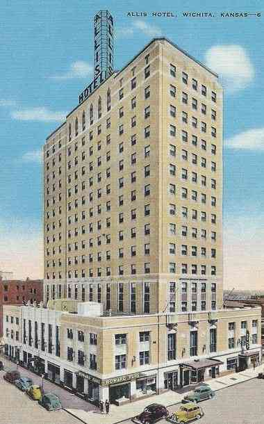Wichita, Kansas, USA - Allis Hotel