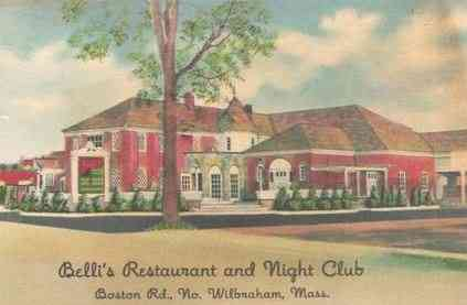 Wilbraham,  Massachusetts, USA - Belli's Restaurant and Night Club
