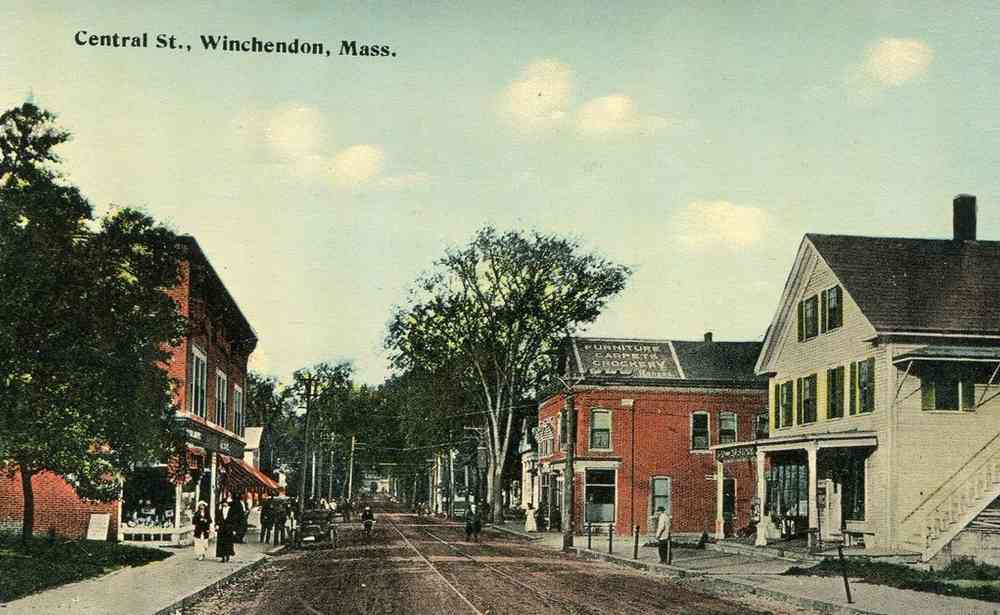 Winchendon, Massachusetts, USA - Central St., Winchendon, Mass.