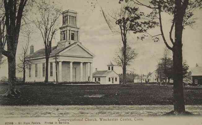 Winchester, Connecticut, USA (Winsted) - Congregational Church, Winchester Center, Conn.