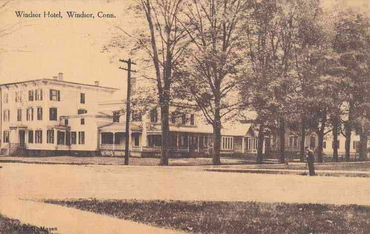 Windsor, Connecticut, USA - Windsor Hotel, Windsor, Conn.