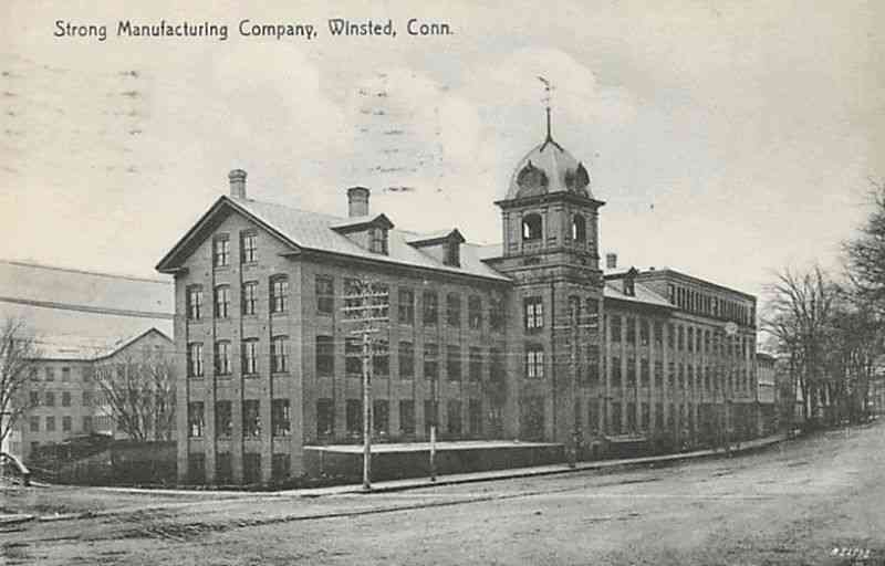Winchester, Connecticut, USA (Winsted) - Strong Manufacturing Company, Winsted, Connecticut