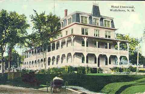 Wolfeboro, New Hampshire, USA - Hotel Elmwood