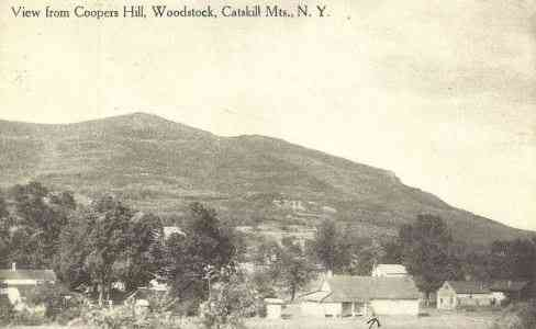 Woodstock, New York, USA - View from Cooper's Hill (1910)