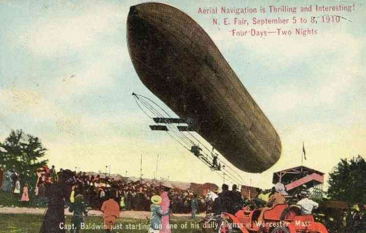 Worcester, Massachusetts, USA - Aerial Navigation is Thrilling and Interesting