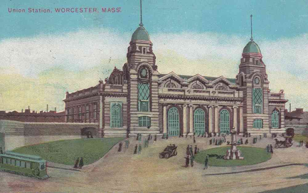 Worcester, Massachusetts, USA - Union Station