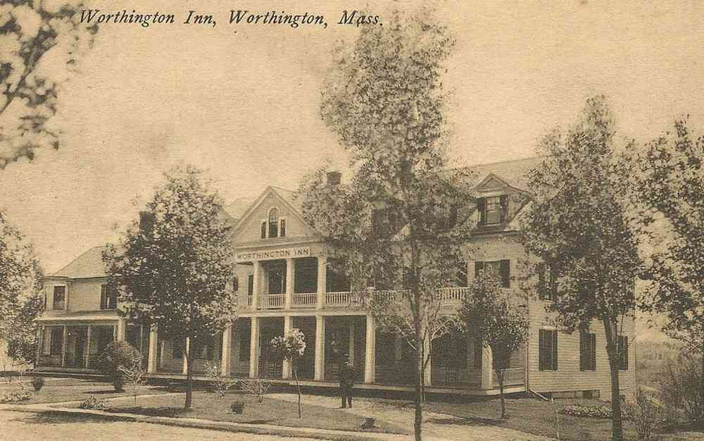 Worthington, Massachusetts, USA - Worthington Inn, Worthington, Mass.