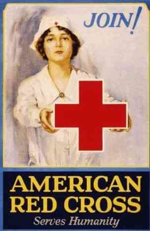 , United States (USA) (American Colonies) - World War II Red Cross ad