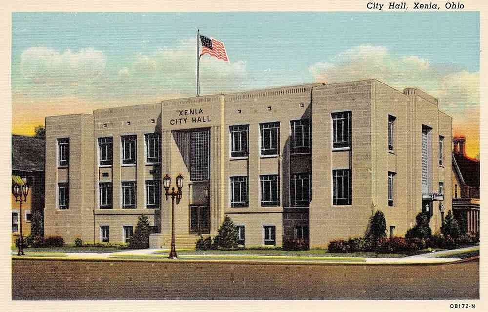 Xenia, Ohio, USA - City Hall