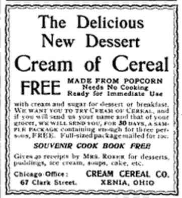 Xenia, Ohio, USA - The Delicious New Dessert