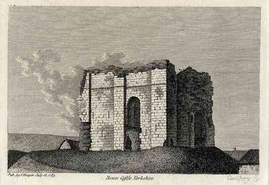, Yorkshire County, England - Bowes Castle, Yorkshire