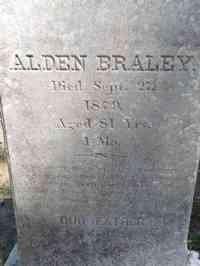Alden BRALEY